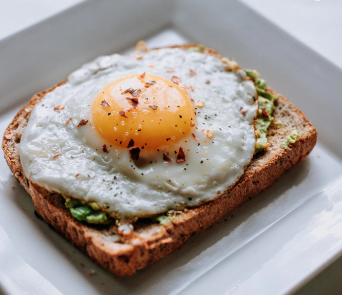 Nutrition Challenge: Add an egg!