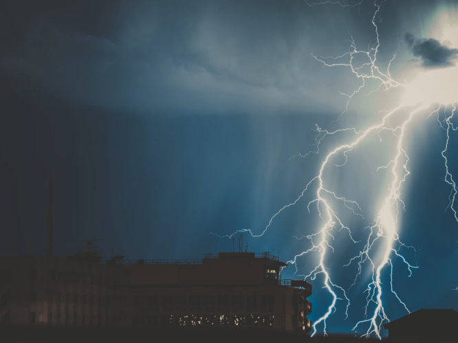 Do you know how to stay safe during a lightning storm?