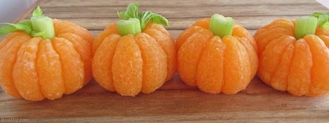 Fun and Healthy Halloween Snacks!