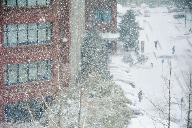What to do if there's a snowstorm on a workday